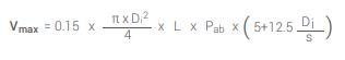pe-pipe-test-formula